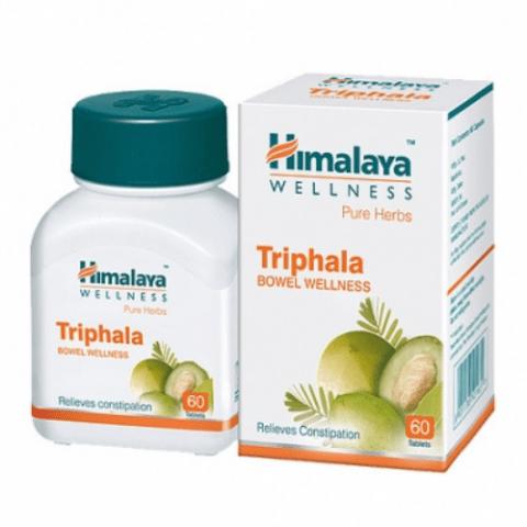 Трифала, 60 таб, антиоксидант, общеукрепляющее, контроль веса. Производитель Хималая; Triphala, 60 tabs, Himalaya Herbals